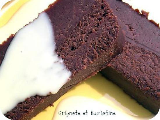 recette Fondant à la chataigne, au chocolat