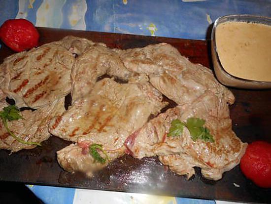 Recette d 39 entrecote grill e sauce au maroilles - Recette andouillette grillee ...