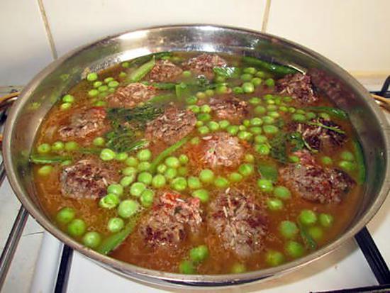 Comment cuisiner viande hachee - Comment cuisiner des petit pois en boite ...