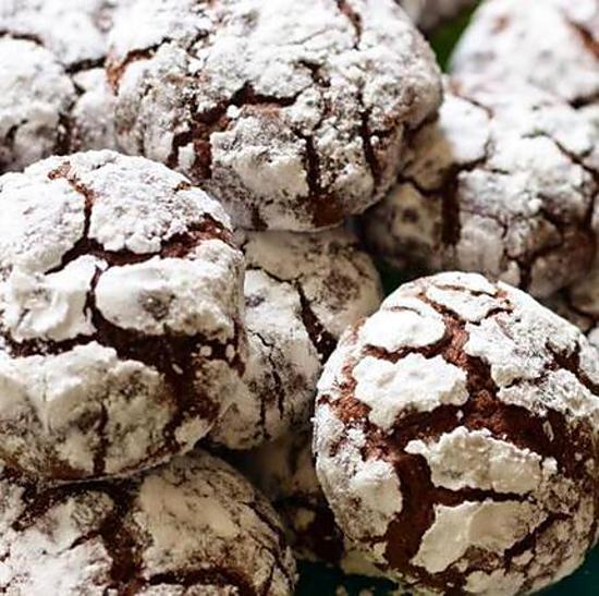 recette de crinkles biscuits au chocolat super moelleux. Black Bedroom Furniture Sets. Home Design Ideas