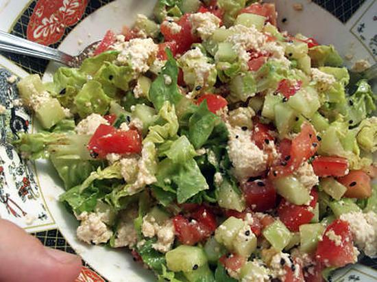 Recettes des salades avec photos - Salade verte calorie ...