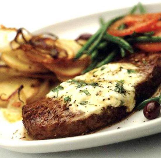 Recette de beurre de ch vre pour viandes rouges - Sauce pour viande rouge grillee ...