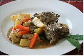 recette joues de porc mijotées aux légumes (Marmiton)