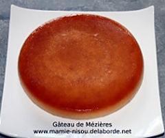 recette Gâteau de Mézières