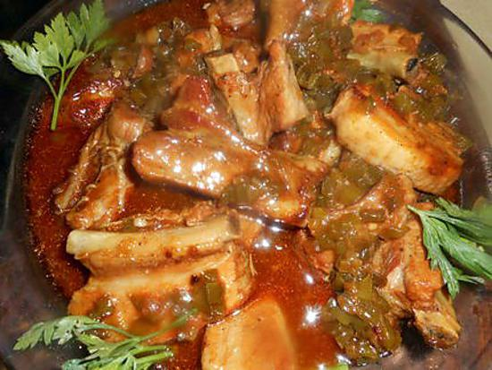 Recette de travers de porc sauce aigre douce par jeanmerode - Cuisiner travers de porc ...