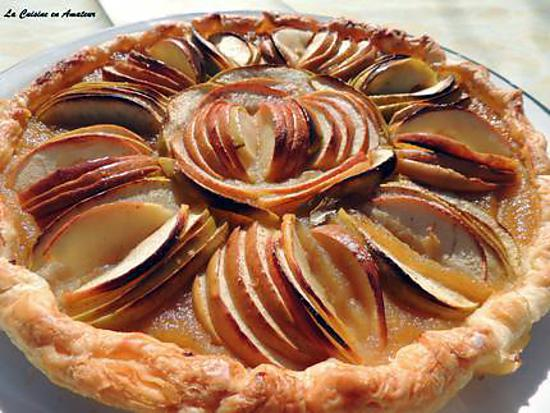 Recette De Tarte Aux Pommes En Forme De Fleur