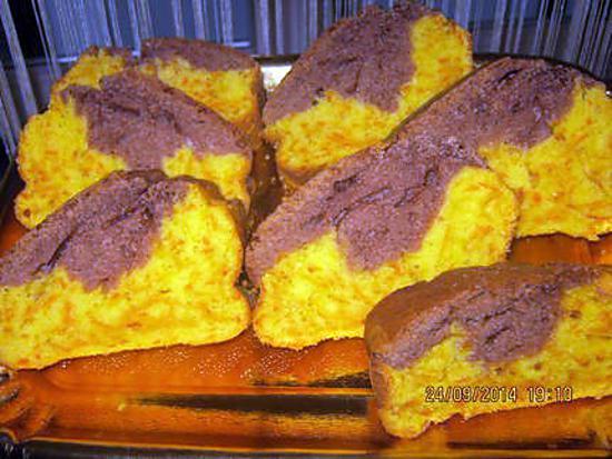 recette Cake aux carottes et cacao