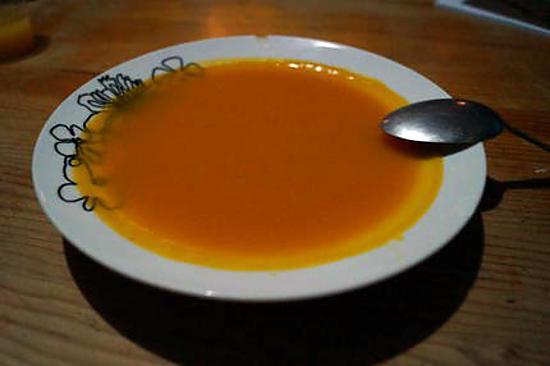 recette ma petite soupe d'automne potimarron, butternut