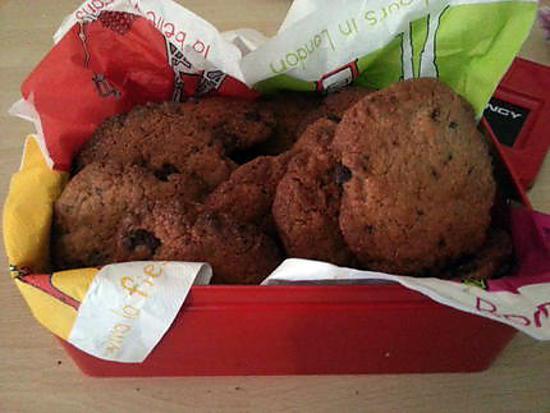 recette American cookies