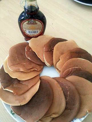 recette Pancakes au lemon curd
