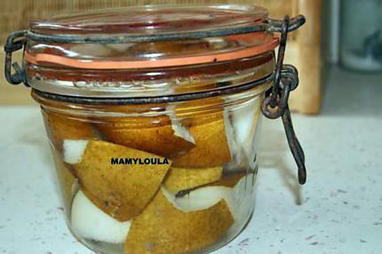recette Liqueur de poires