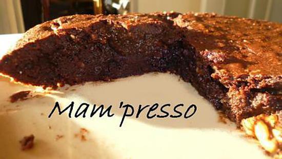 recette Brownie d'automne aux noix et noisettes