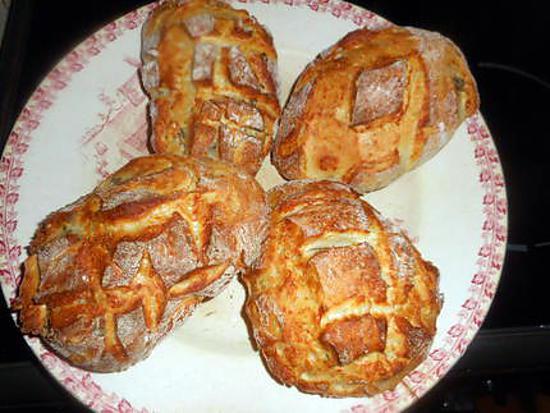 recette Petits pains au parmesan et a l origan