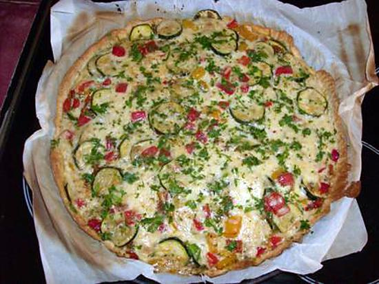 recette tarte provencale aux légumes