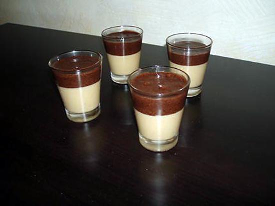 recette Petites douceurs de mousses au nutella et caramel au beurre salé