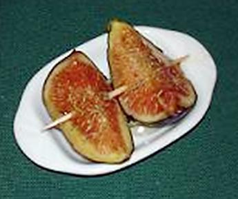 recette Figues au miel & fleurs de thym