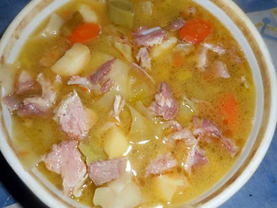 recette Soupe paysanne