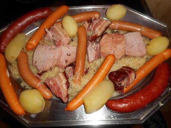 Recette de choucroute alsacienne par jeanmerode - Recettes cuisine alsacienne traditionnelle ...