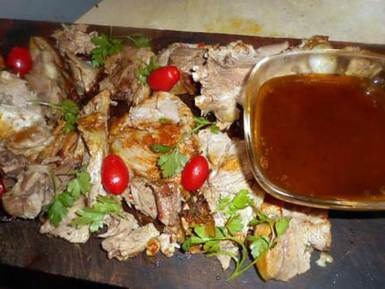 recette Epaule d agneau aux herbes de provence et aux épices