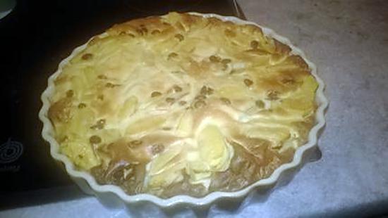 recette Flamisse aux pommes de MYOLO,revisité ,