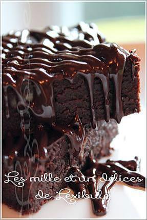 recette ~Brownies au chocolat et Kahlua~