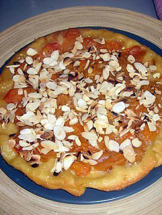 recette tarte tatin abricots amandes