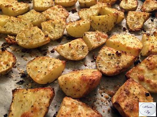 recette Pommes de terre nouvelles à l'ail et aux herbes