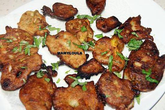 recette Beignets de fleurs de courgettes(basée sur plusieurs de vos recettes)