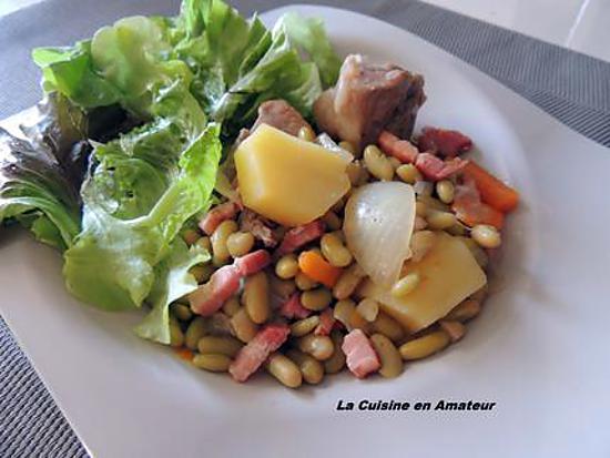 recette Sauté de porc aux légumes et lardons