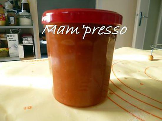 recette Confiture poires-vanille