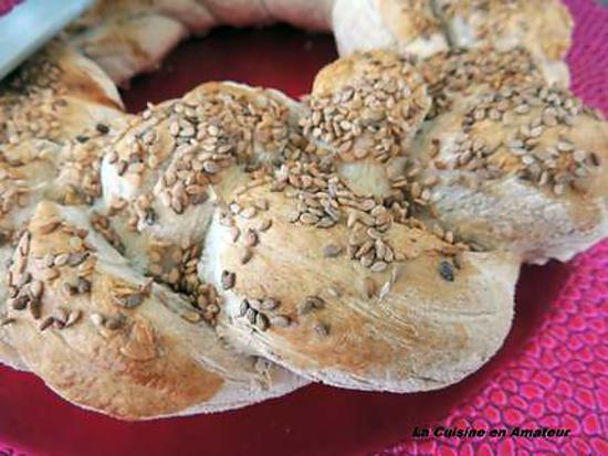 recette pain aux graines de sésames