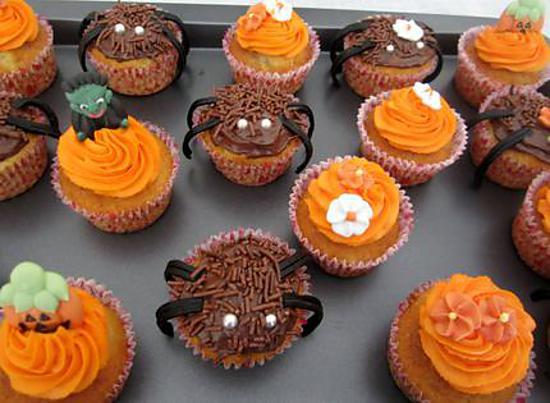 recette de cupcakes halloween. Black Bedroom Furniture Sets. Home Design Ideas