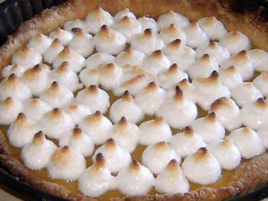 Les meilleures recettes de tarte au citron sans oeufs - Recette tarte au citron sans meringue ...