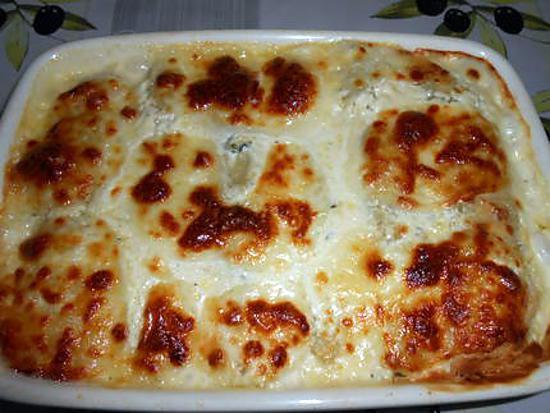 cannelloni ricotta blette gratinés 430