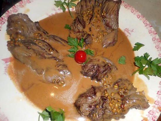 recette Bavette d aloyau au poivre vert
