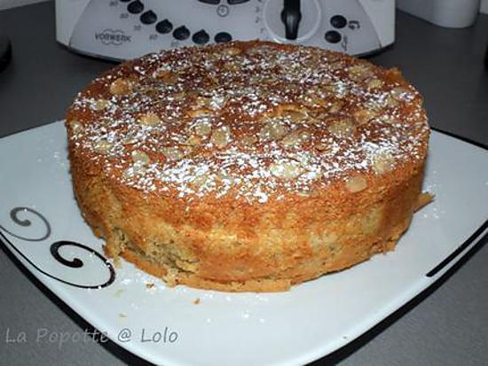 recette Gâteau Magique à la Noisette au thermomix