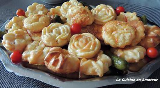 Recette de mini quiche au surimi - Moule mini quiche ...
