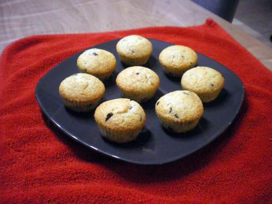 recette muffins noix de coco et pépites de chocolat
