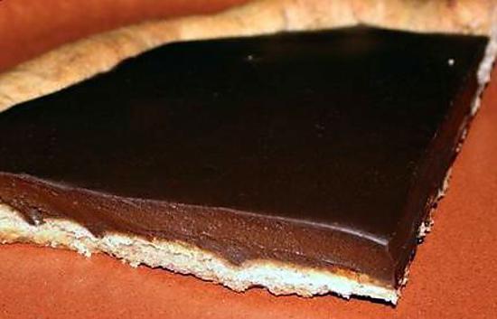 recette de tarte au chocolat par elyna. Black Bedroom Furniture Sets. Home Design Ideas