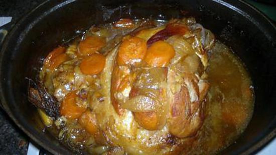 recette Jarret de porc braisé 7 heures