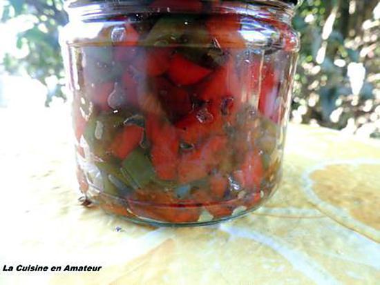 recette Chutney de poivrons