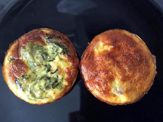 recette minis quiches sans pâte