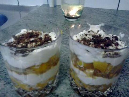 recette Tiramisu à l'abricot