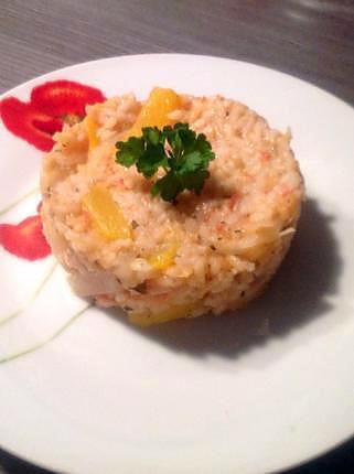 recette de risotto la tomate fraiche et poivron jaune. Black Bedroom Furniture Sets. Home Design Ideas