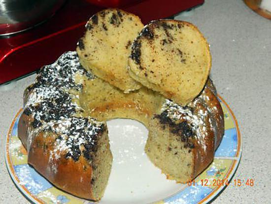 recette Gâteau au lait concentré sucré et chocolat