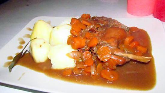 recette LE lapin sauce liégoise
