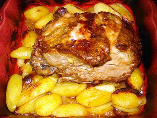 Recette de c te d 39 echine au four recette portugaise - Cuisine portugaise recettes ...