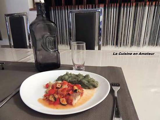 recette Lieu noir en papillote de Jean