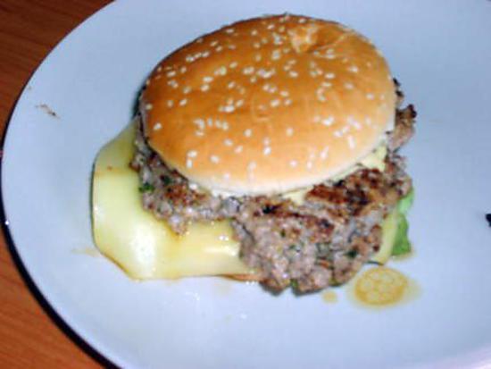 recette de burger de porc la plancha. Black Bedroom Furniture Sets. Home Design Ideas