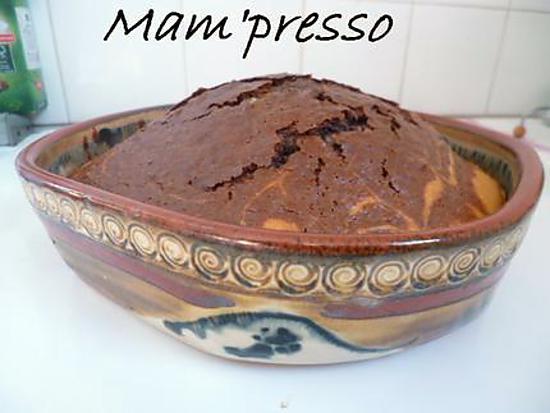 Recette de g teau marbr sans beurre ni huile - Gateau sans sucre ni beurre ...